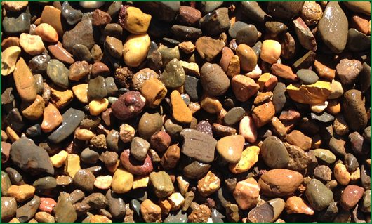 14 -20mm River Gravel