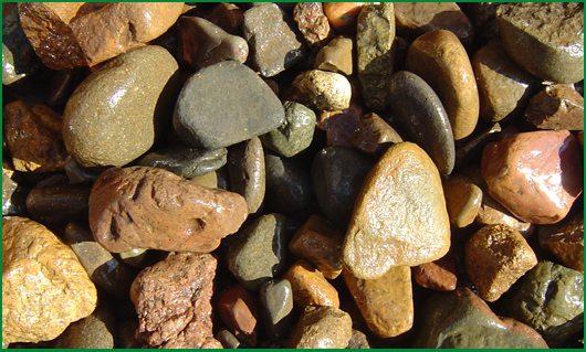 30 – 70mm River Stones