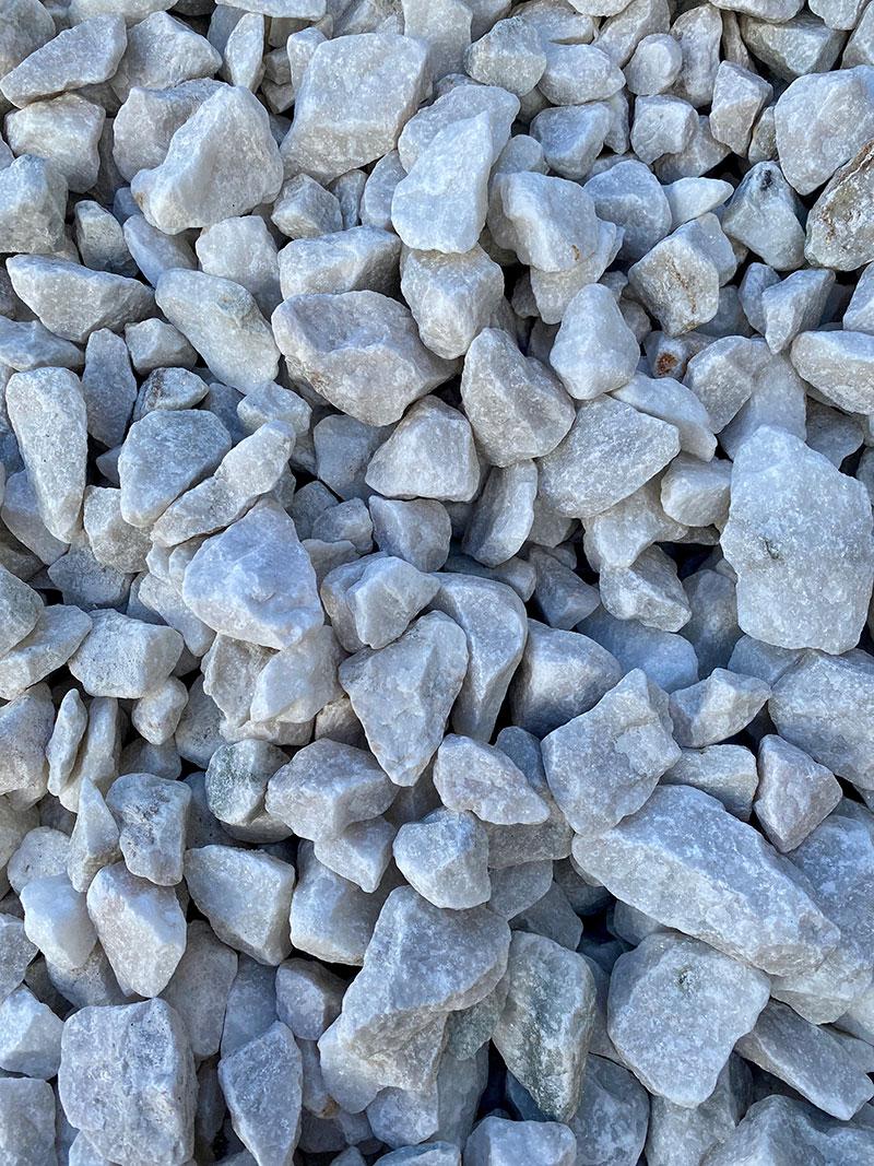 40mm Pure White Limestone