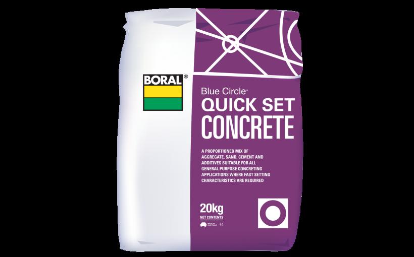 Quick Set Concrete Mix